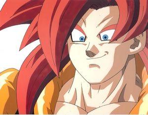 Super Saiyan 4 Gogeta Anime Dragon Ball Dragon Ball Super Gogeta And Vegito