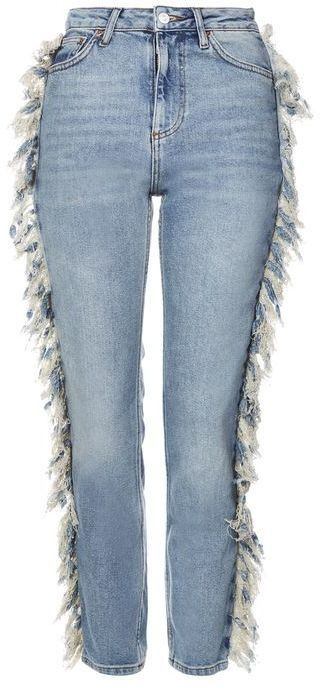 Add some fringe to your denim for a a chic update.