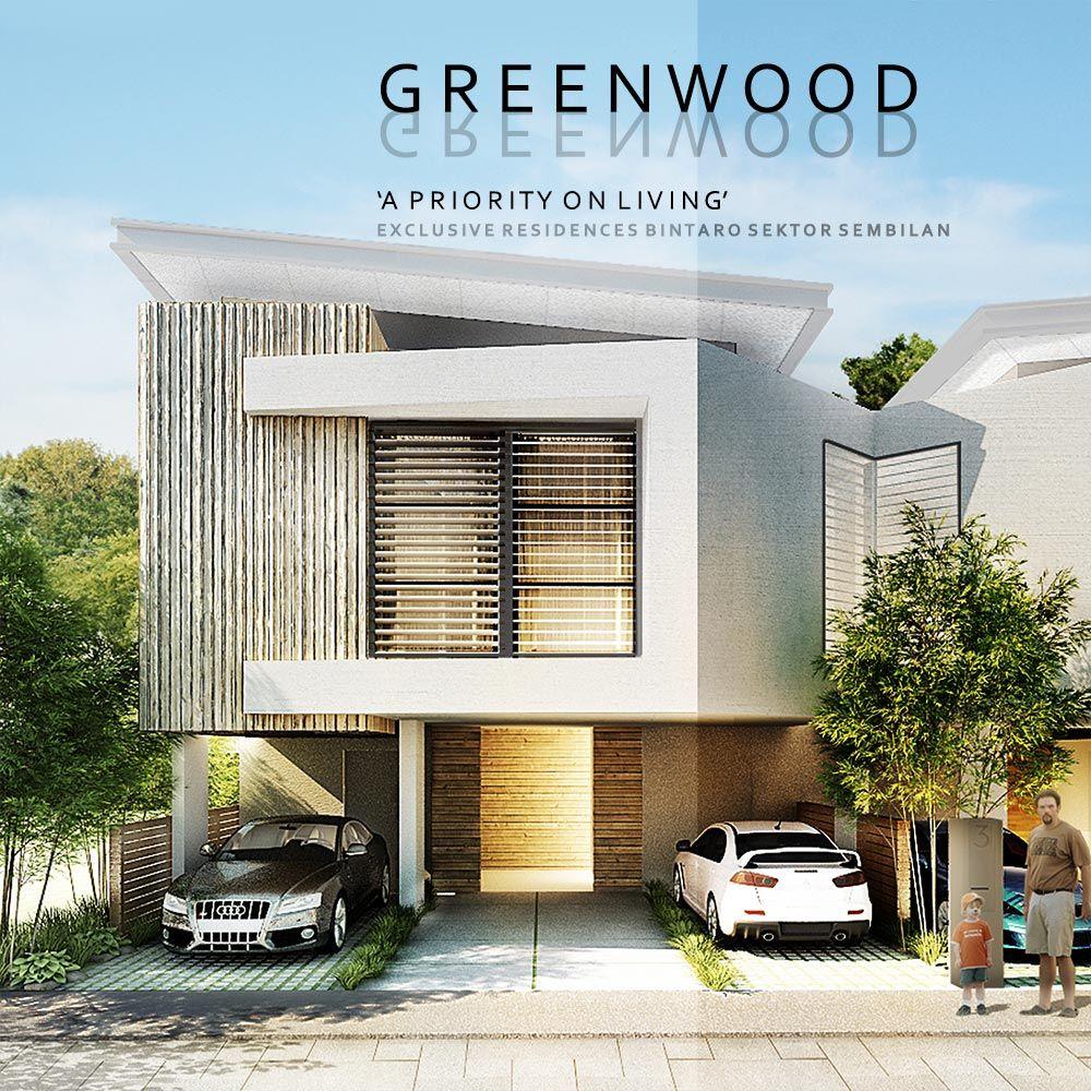 Modern townhouse design by ppa architects jakarta