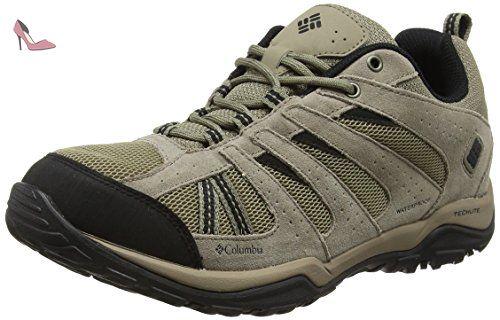 Columbia NORTH PLAINS DRIFTER WATERPROOF, Chaussures de Randonnée Basses  homme - Gris - Grey (