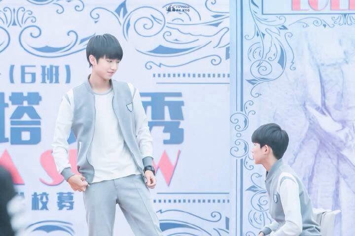 Wang junkai & Wangyuan #kaiyuan #karroy #tfboys #Boyhood