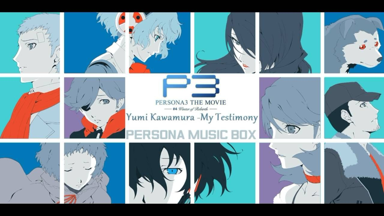 My Testimony Yumi Kawamura Persona 3 Winter Of Rebirth Persona Rebirth Main Theme