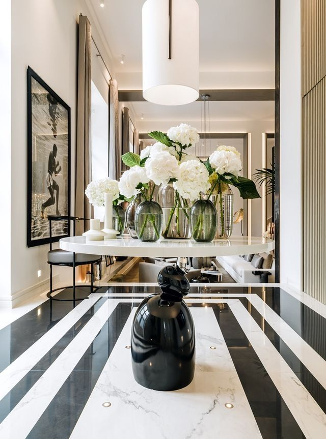 Kelly hoppen designer modern interior also inspired deco design rh pinterest