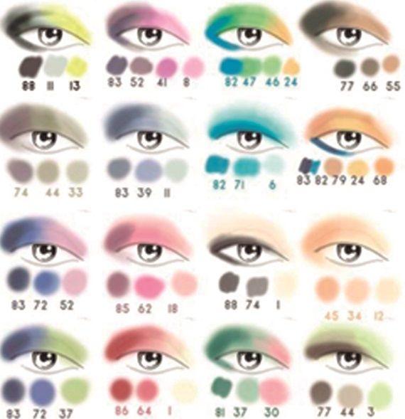 80 S Smokey Eyes Look Basic Makeup Skin Makeup Colorful Eyeshadow