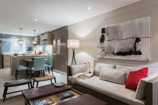 Claves para iluminar un espacio integrado interiores for Decoracion de living comedor integrados
