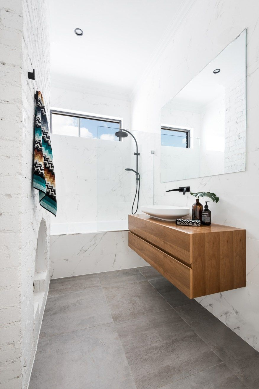 A Federation House Renovation in Mount Lawley | Ensuite | Pinterest ...