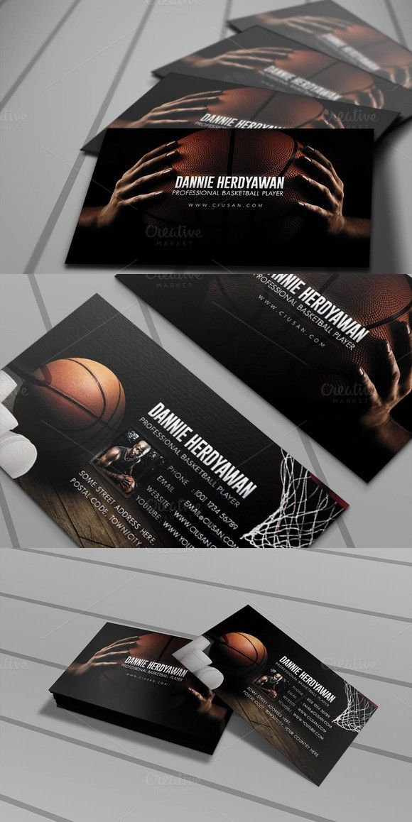 Basketball Business Card Vol. 02 | Business Card Templates ...