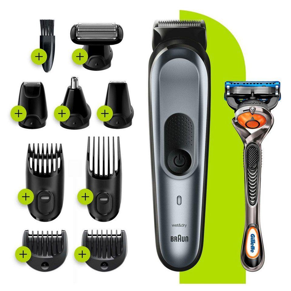 Braun Multifunktionstrimmer 10 In 1 Multi Grooming Kit 7 Mgk7221 Online Kaufen Otto In 2020 Braun Werden Bart Trimmen Langer Bart