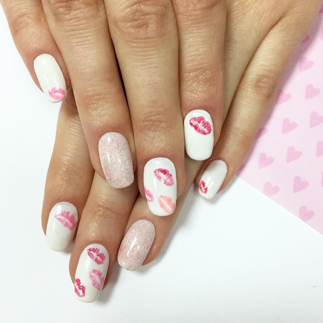 Walentynkowe Paznokcie Hybrydowe Neonail With Images