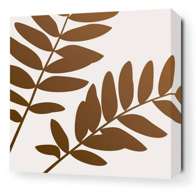 Inhabit Bedding leaf canvas - your source for inhabit products, modern bedding