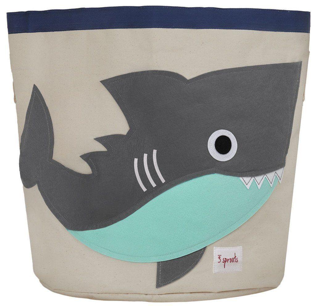Aufbewahrungskorb Hai - Deko und Stauraum für ein Unterwasser ...