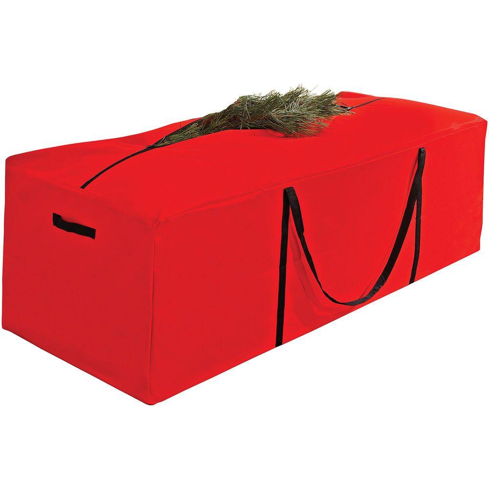 Christmas Tree Storage Bag Red Seasonal Holiday Organizer With Zipper  Sturdy #Simplify #Christmas