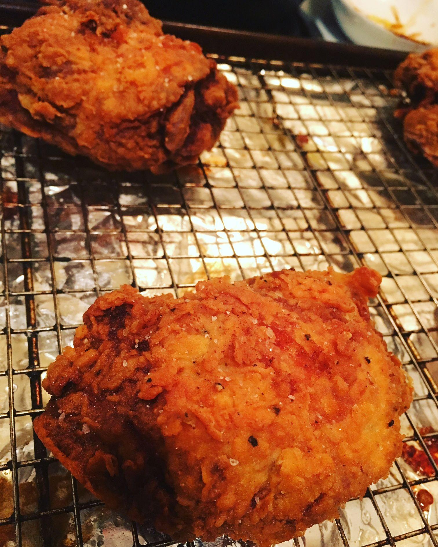 Pickle-Fried Chicken | Recipe in 2020 | Fried chicken, Fried chicken recipes, Cooking recipes