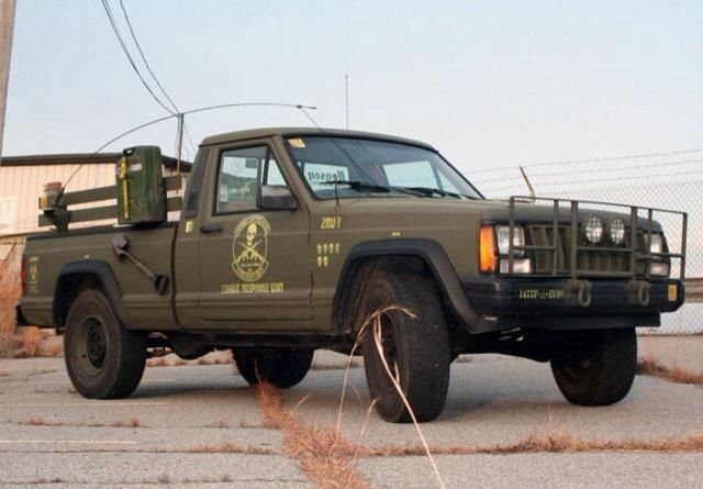Army Jeep Truck Comanche Jeep Hunting Truck