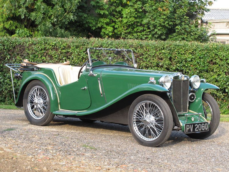 1935 MG PA Four-Seater Tourer