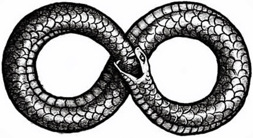 Ouroboros As The Symbol For Eternity Occult Pinterest Symbols