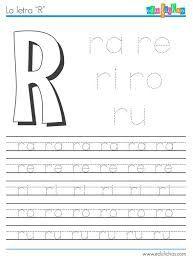 Resultado de imagen para ejercicios de preescolar letras