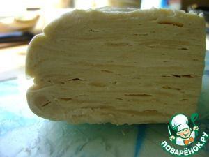Танюшкино слоенное тесто