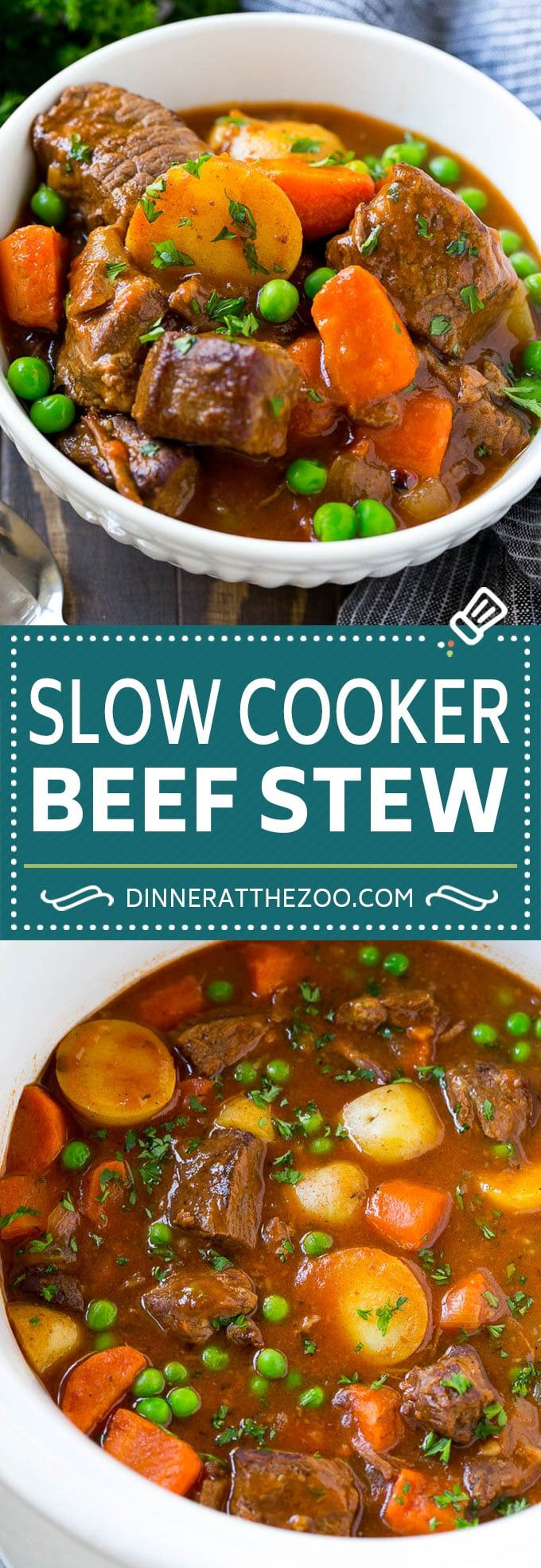 Photo of Slow Cooker Beef Stew – Dinner at the Zoo