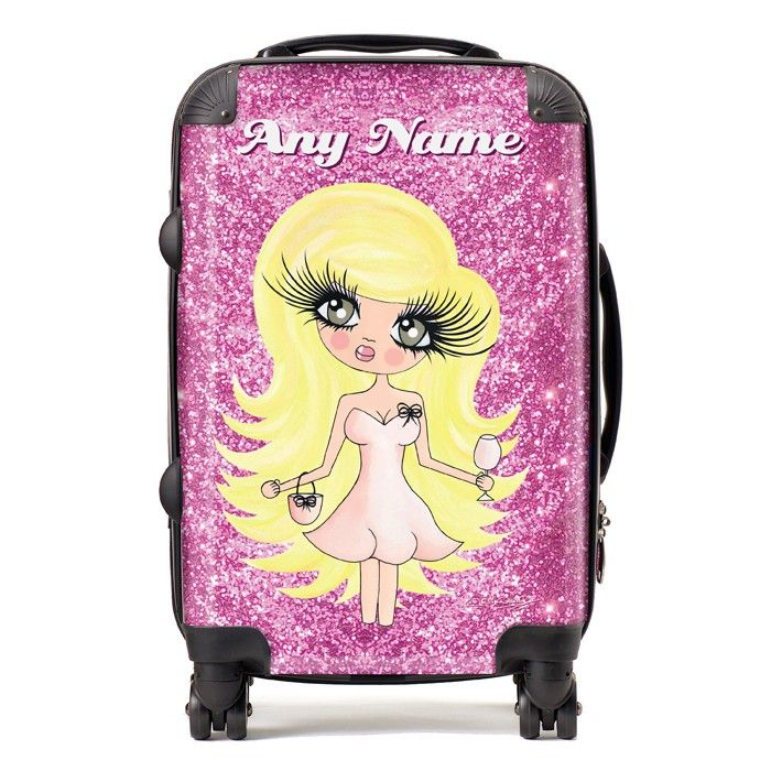 ClaireaBella Glitter Suitcase at ToxicFox.co.uk | CLAIRABELLA ...