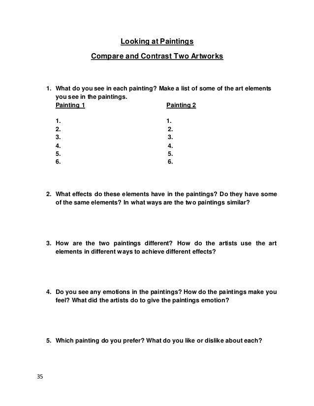 Art Elements Manual Kasfinal Elements Of Art Art Terms Art Worksheets