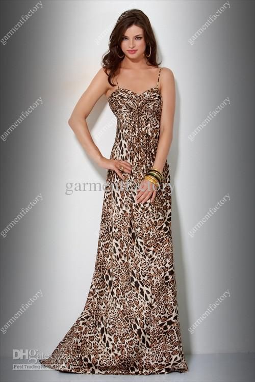 Evening dresses in animal print | My best dresses | Pinterest ...