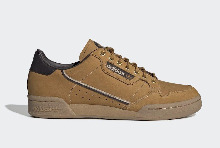 adidas Continental 80 Wheat | Classic