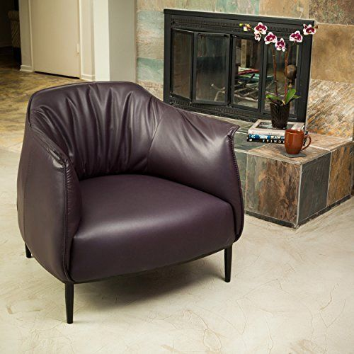Enjoyable Adelina Purple Leather Accent Chair You Can Find Out More Beatyapartments Chair Design Images Beatyapartmentscom