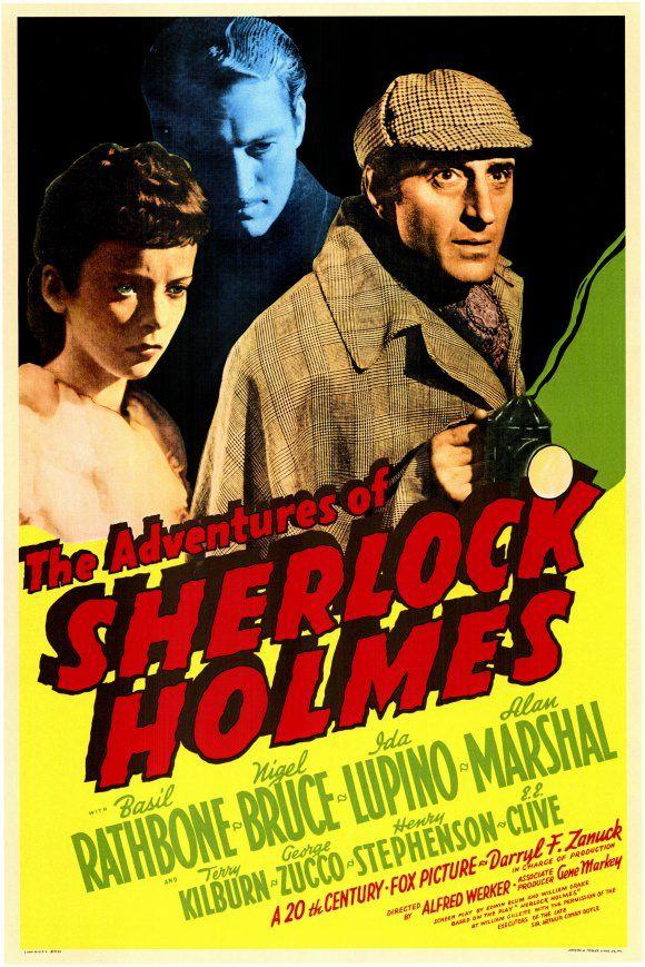 Sherlock Holmes : The Adventures Of Sherlock Holmes (1939) – Basil Rathbone  DVD
