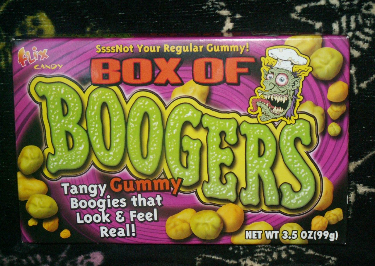 Box of boogers junk food betty gummy candy gummies