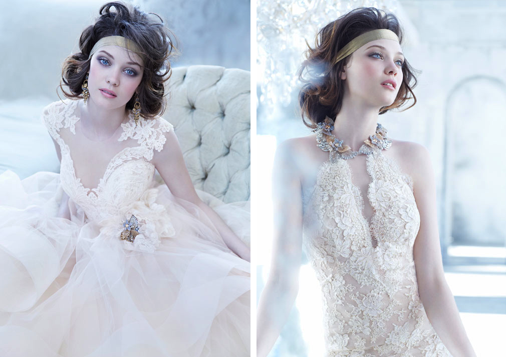 Lazaro Bridal Fall 2013 Wedding Dresses details 2