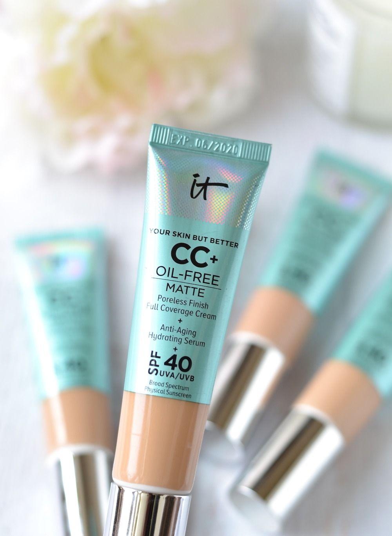 Best Cc Cream 2020 Make it Matte! IT Cosmetics Oil Free Matte CC Cream SPF 40
