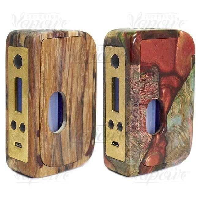 Stabwood DNA250 Squonk Mod by Duck Mods   Duck Mods are