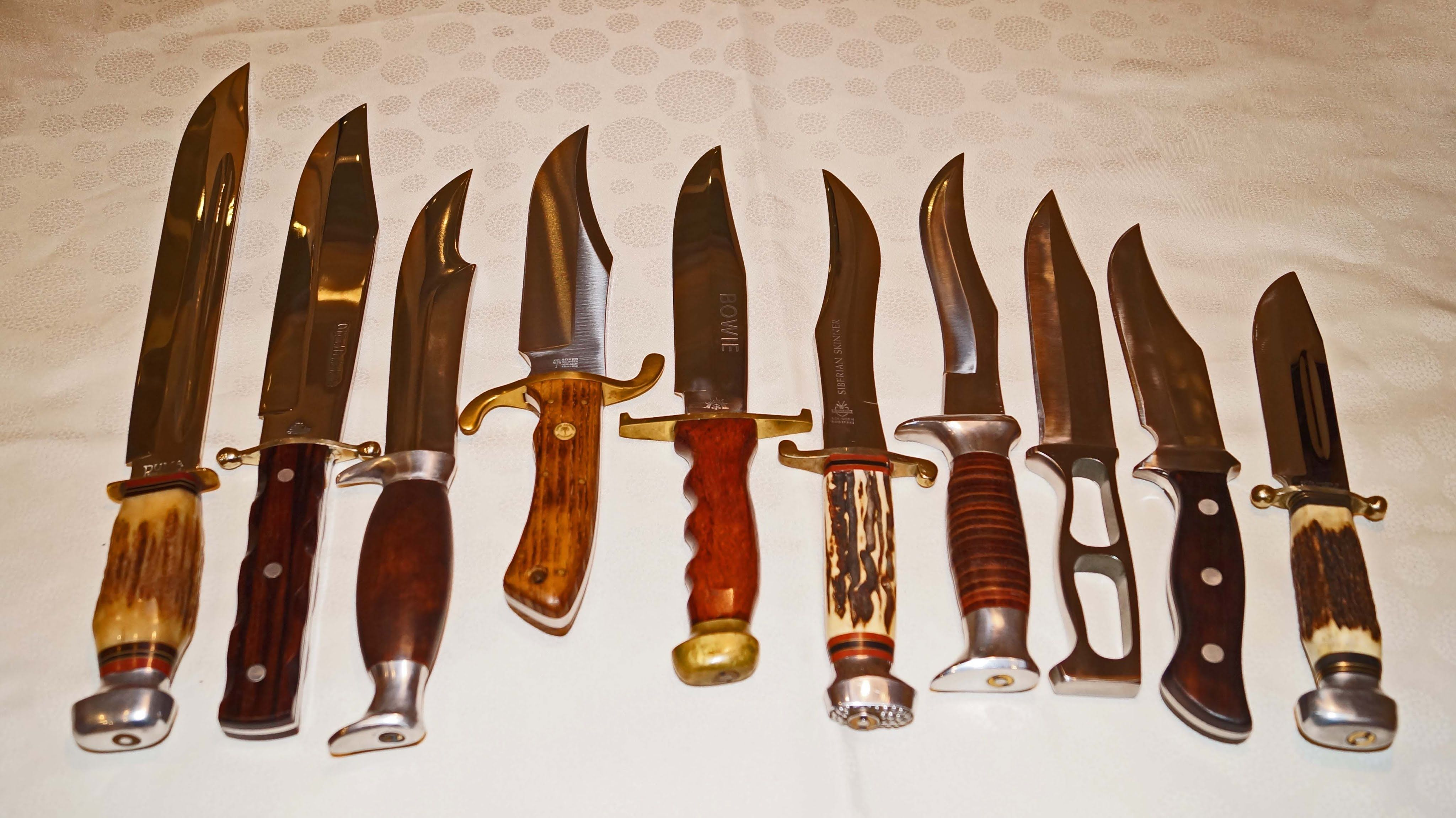 Pin Auf Vintage Factory Hunting Knives