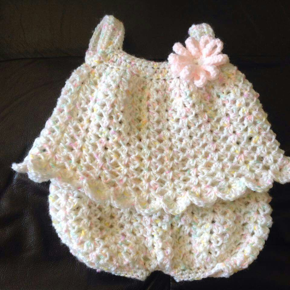 FREE Baby Dress Crochet Patterns | Booties, slippers & baby things ...