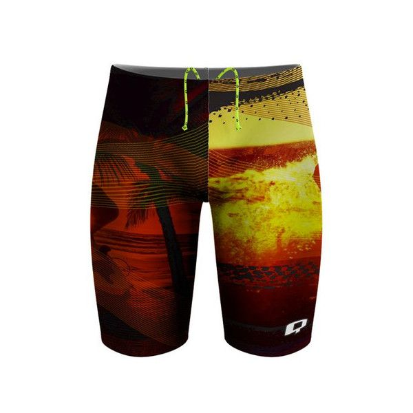 Killer Waves Jammer. You gotta catch the wave bro!  #qswimwear