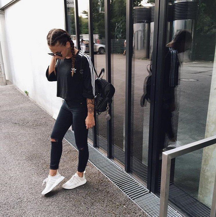cbf429181  New Fashion 2018 40 great outfits combined with Adidas NMD for women   design  2018  classic  design 40  great  outfits  combined  with  Adidas   NMD  for   ...