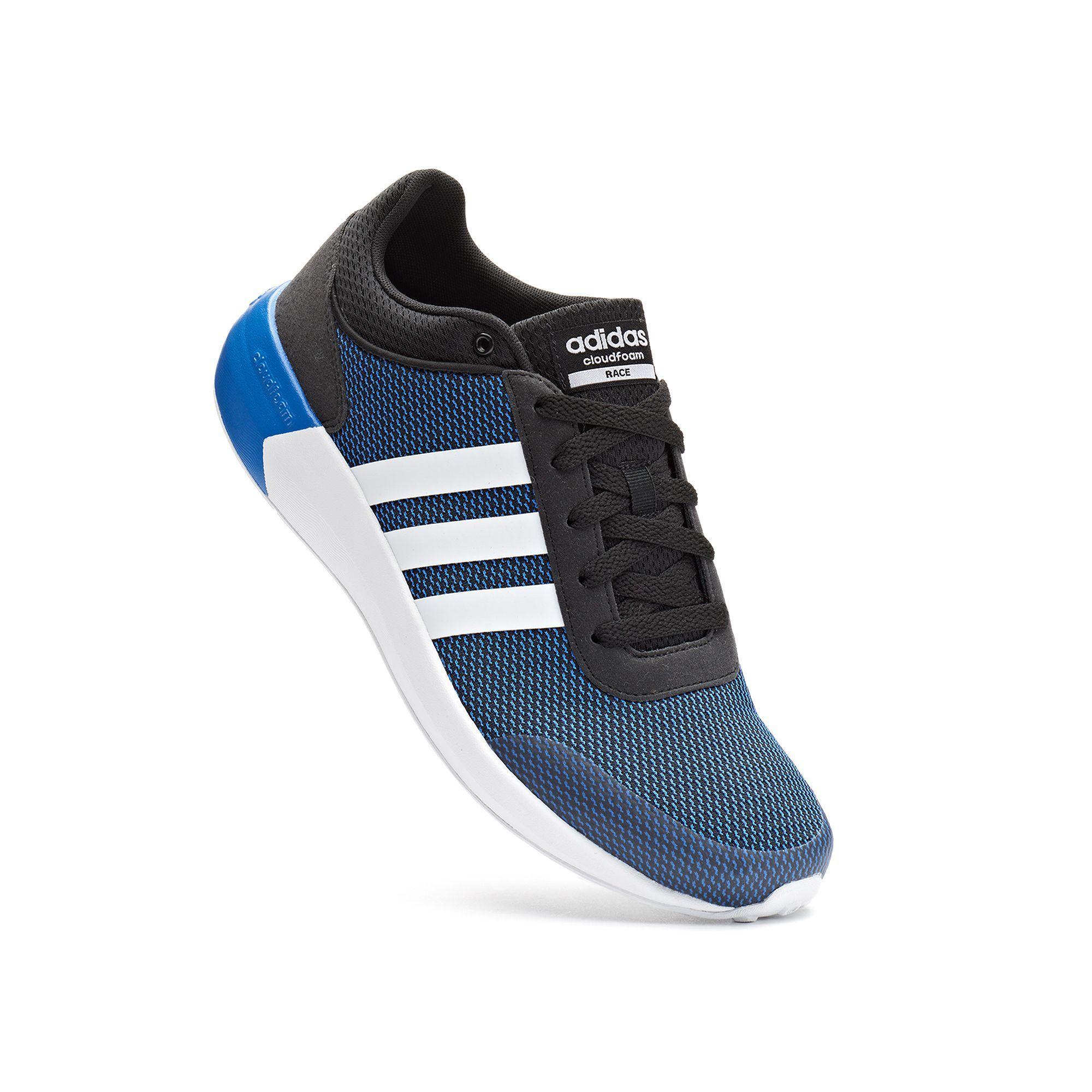 adidas NEO Cloudfoam Race Men's Athletic Shoes   Mens athletic ...