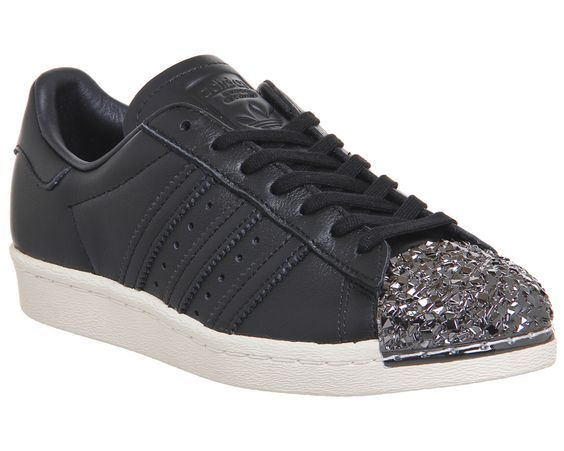 competitive price fe995 a5983 Adidas Superstar 80s Metal Toe Black Shattered Mirror 3d