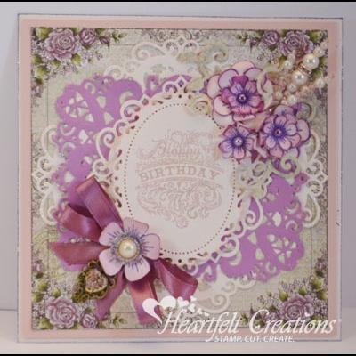 Gallery   Posy Patch Birthday - Heartfelt Creations