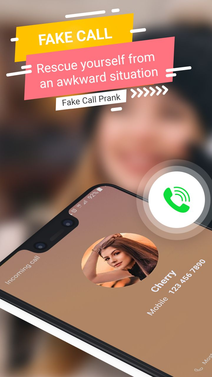 You can Design a Prank calling app with anyone you would
