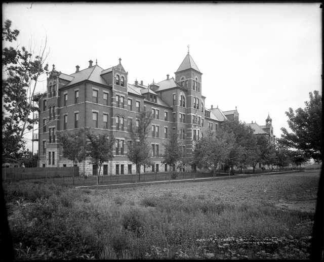 Saint Anthony S Hospital Denver Colorado 1905 Denver History