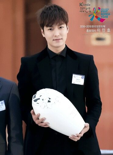 (Part 8) In 06-11-2015 Lee Min Ho go to visit Korea Year Proclamation Ceremony