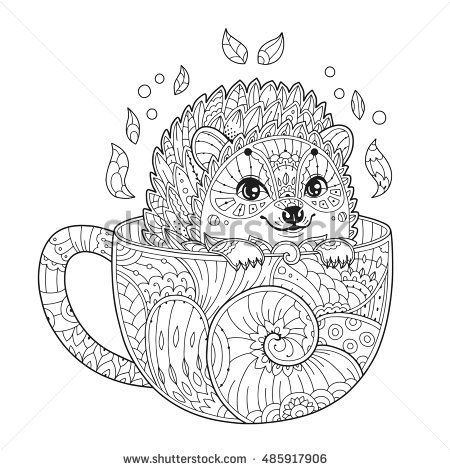 Coloring Page - Hedgehog | Animal Tattoos | Pinterest | Coloring ...