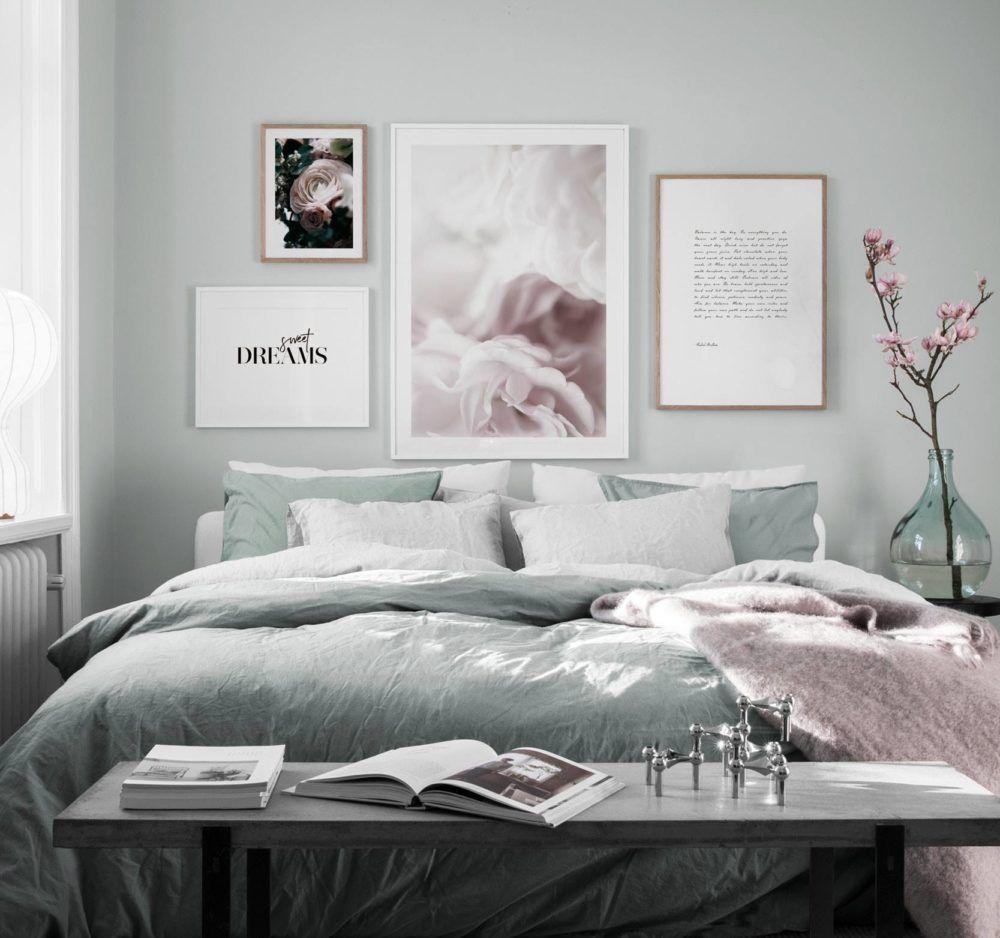 Scandinavian Bedroomdesign Inspiration: S Skapar Du En Trendig Tavelv Gg Stor Upph Ngningsguide