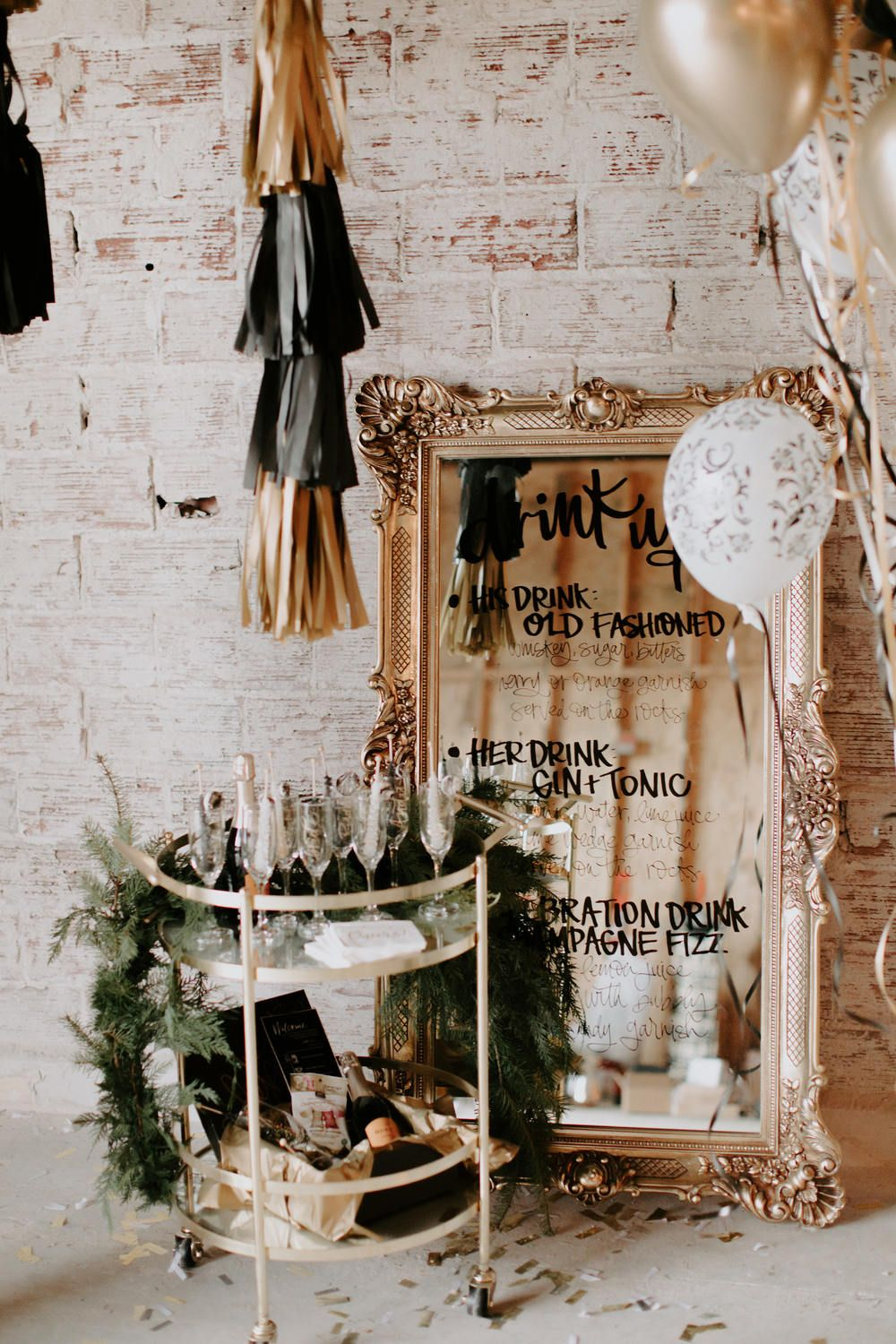 The Most Epic NYE Wedding Inspiration