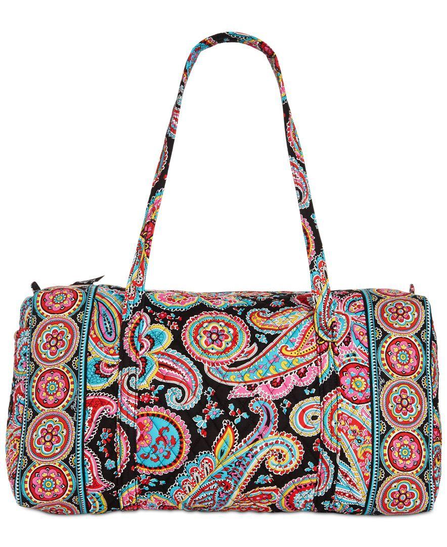 fb0a40a23a01 Vera Bradley Large Duffel Bag