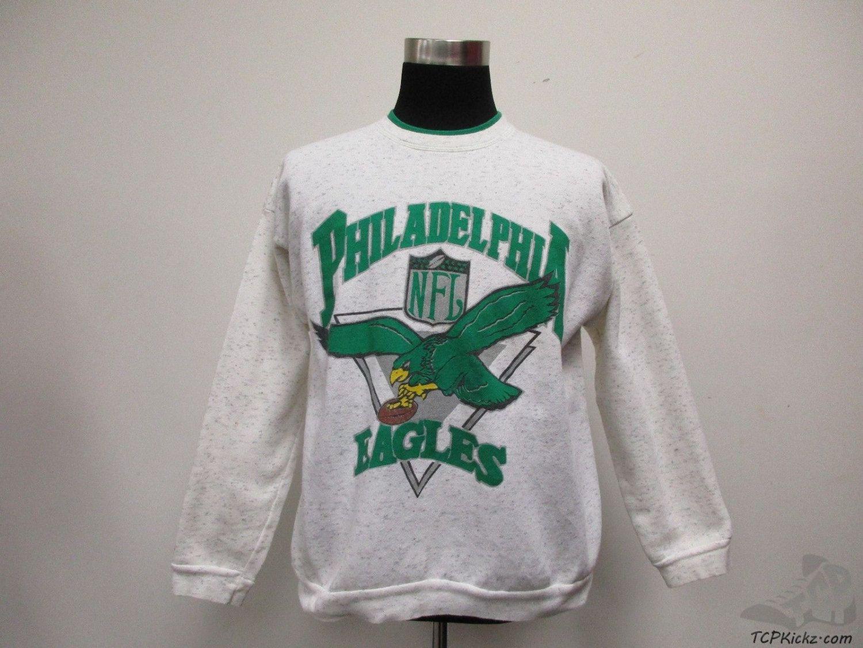 Vtg 80s 90s Philadelphia Eagles Crewneck Sweatshirt Sz Xl Extra Large Nfl Grey Vintage Sweatshirts Crew Neck Sweatshirt Philadelphia Eagles [ 1126 x 1500 Pixel ]