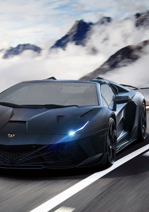 Exotic Luxury Cars Like The New V12 Lamborghini Aventador S Is High Tech  Style