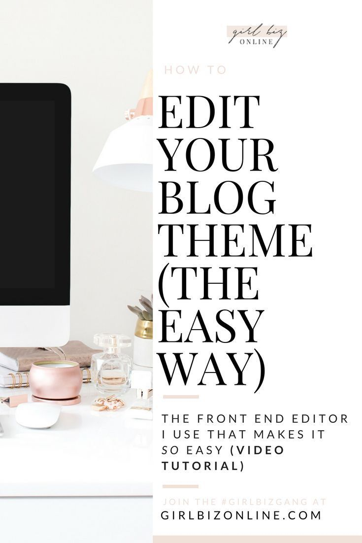 How To Edit Your Wordpress Theme With The One Tool I Use That Makes